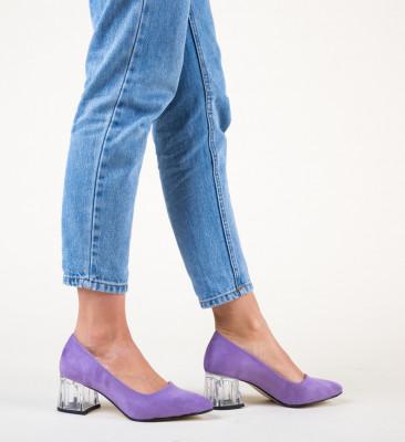 Обувки Dove Лилав