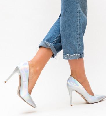 Обувки Federic Сребърни