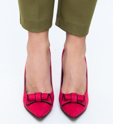 Обувки Manel Червени