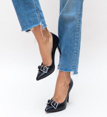 Обувки Manel Черни