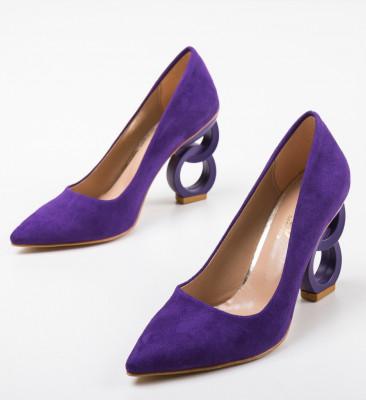 Обувки Simoni 2 Лилав
