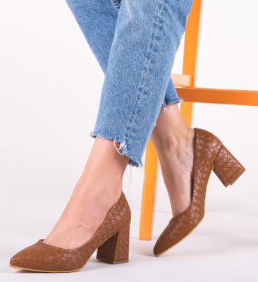 Обувки Spic Кафяв