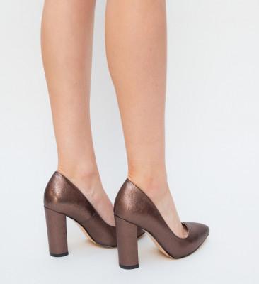Обувки Talia Кафяви