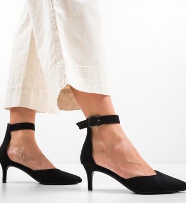 Обувки Vill Черни