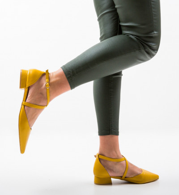 Обувки Yousif Жълти
