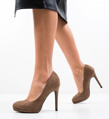 Обувки Zamor Кафяв