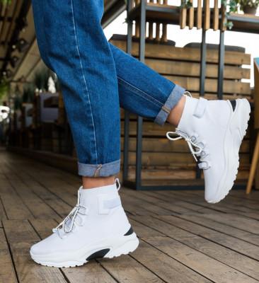 Спортни обувки Hunt Бели