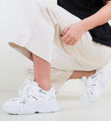 Спортни обувки Sanko Бели