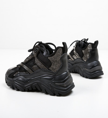 Спортни обувки Strauso Черни