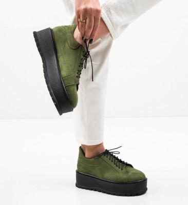 Ежедневни обувки Dutano Зелени