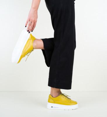 Ежедневни обувки Figuer Жълти