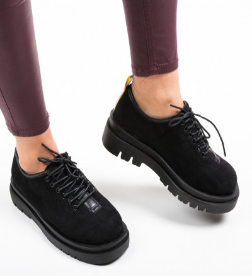 Ежедневни обувки Kajal Черни