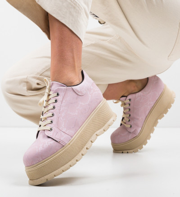 Ежедневни обувки Kislev Розов