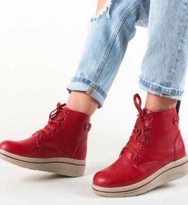 Ежедневни обувки Lakiob Червени