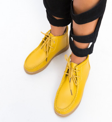 Ежедневни Обувки Munela Жълти