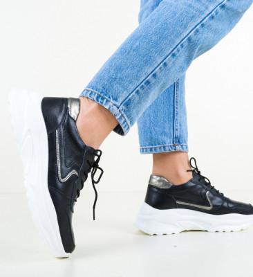 Ежедневни обувки Walsh Черни