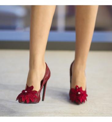 Обувки Баракуда Гранатови