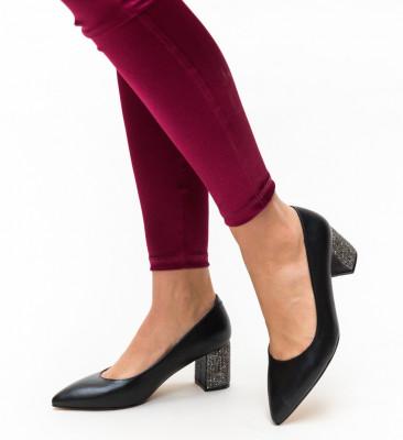 Обувки Черни