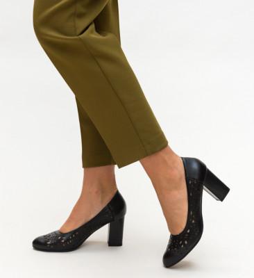 Обувки Andy Черни