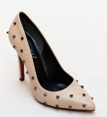 Обувки Barlet Бежови