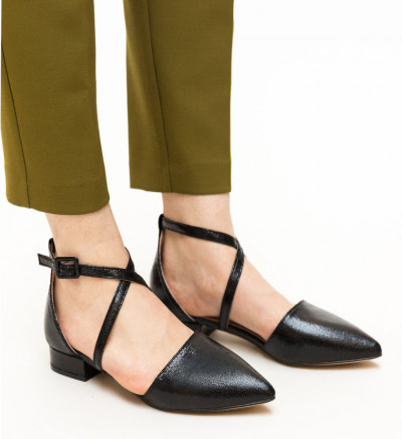 Обувки Carli Черни