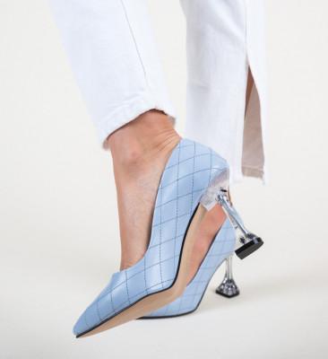Обувки Celine Сини