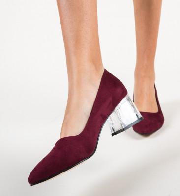 Обувки Dove Гранатов