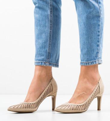 Обувки Genmeli Бежов