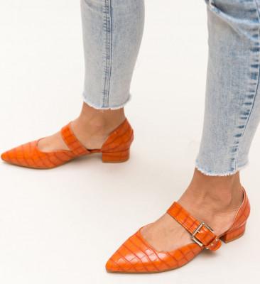 Обувки Jakub Оранжеви