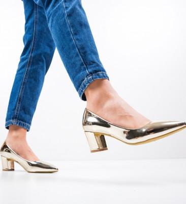 Обувки Kelse Златни