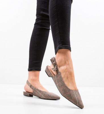 Обувки Lilli Кафяв