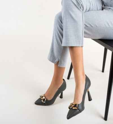 Обувки Link Сив