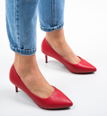Обувки Magu Червени