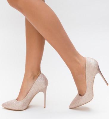 Обувки Orta Златни