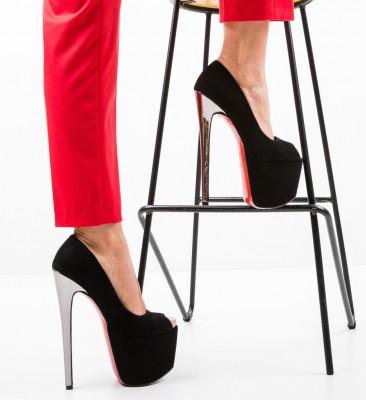 Обувки Quker 6 Черни