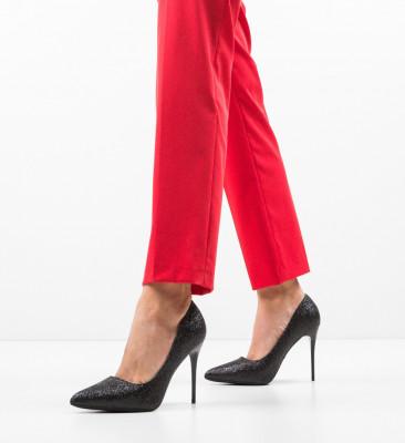 Обувки Rhys Черни