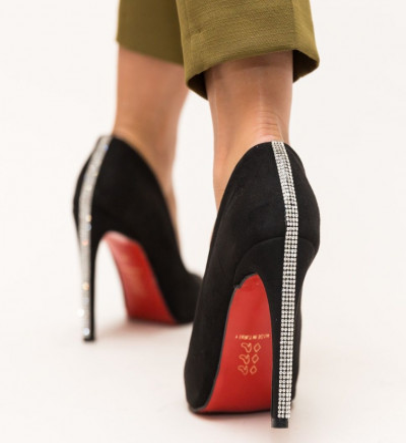 Обувки Rodina Черни
