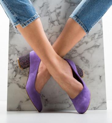 Обувки Sahara Лилав