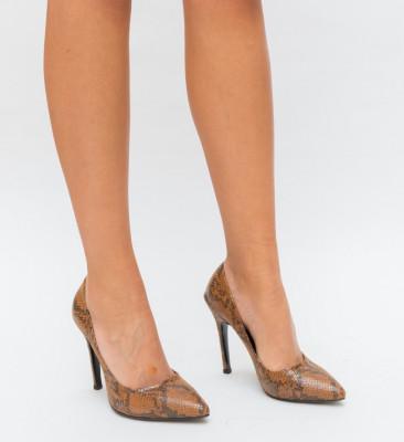 Обувки Salvy Кафяви