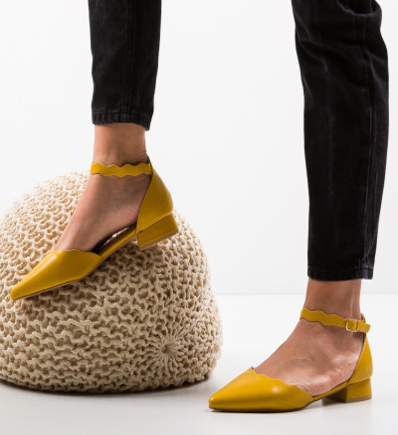 Обувки Tierne Жълти