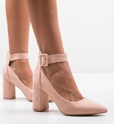 Обувки Zaina Нуд