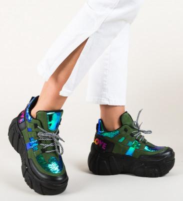 Спортни обувки Bojak Зелени