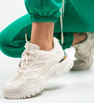 Спортни обувки Caiu Бежов