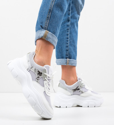Спортни обувки Cara Сив