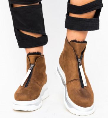 Спортни Обувки Escala Кафяви