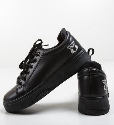 Спортни обувки Leon Черни