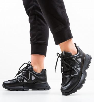 Спортни обувки Watki Черни