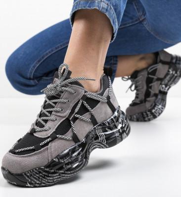 Спортни обувки Yamaiox Сив