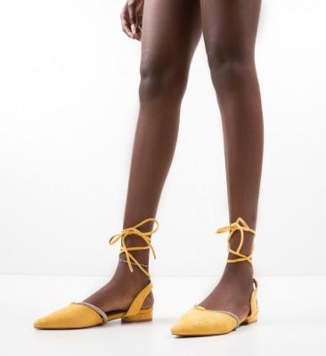 Балерини Hicks Жълти