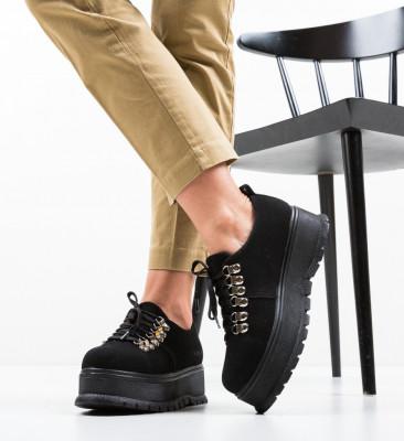 Ежедневни обувки Aftero Черни